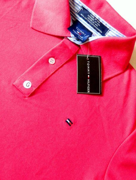 Camisa gola polo feminina Tommy 4b72a29c7698f